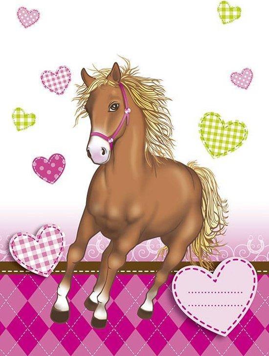 Paarden Uitdeelzakjes Versiering - 6 stuks in Westerland