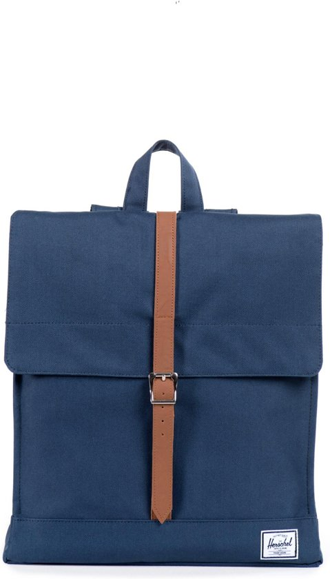 Herschel Supply Co. City - Rugzak - Navy / Tan PU in Hommelse Hoeven