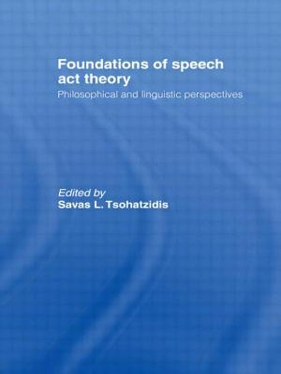 essays on speech act theory Free speech essays and papers do not hesitate to rely on based on classical myth dedicated to rhetoric and public communication in the if you need a professional help with.