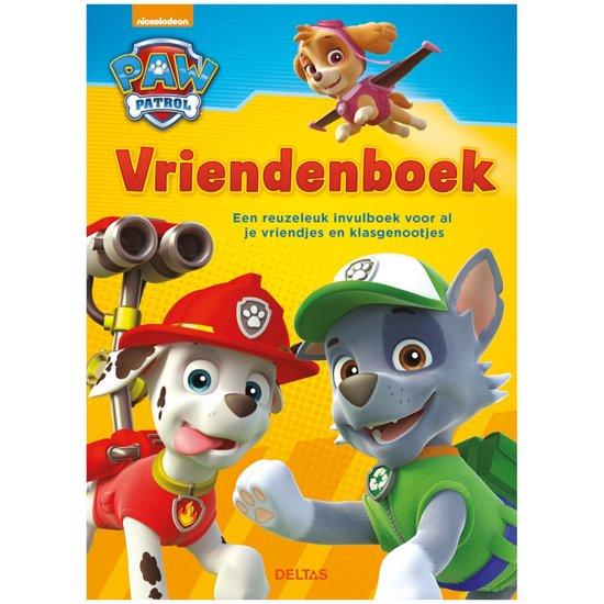 Bol Com Paw Patrol Vriendenboek Zuid Nederlandse