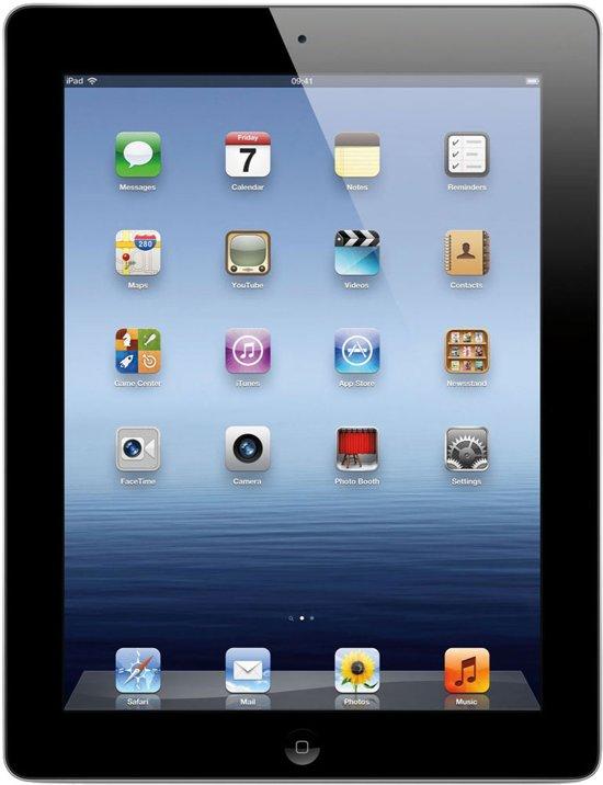 Apple iPad 4 Retina - Zwart/Grijs - 32GB - Tablet