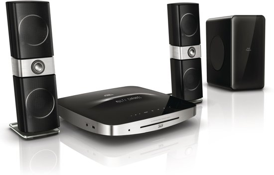 Philips Fidelio HTS9221 - 2.1 Home Cinema Set - Zwart