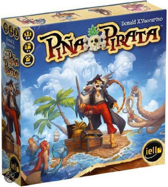 Pina Pirata - Bordspel in Oudehorne / Aldhoarne