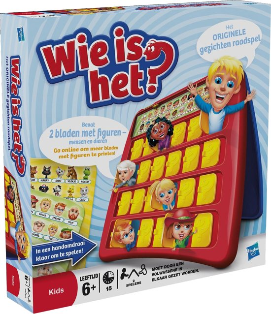 Wie is Het? - Kinderspel