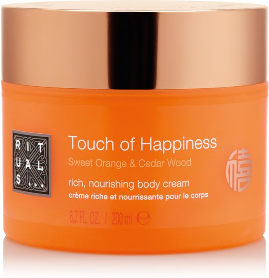 RITUALS Touch of Happiness - 200ml - Bodycrème in Mellier