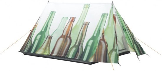 Easy Camp Image - Tunneltent - 2-Persoons - Bottle;Wit in Smeerling
