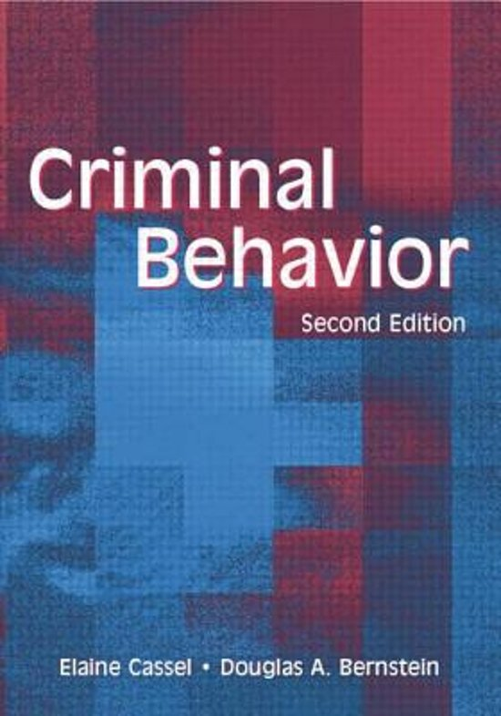genetics and criminal behavior Evidence that genes affect human behavior and have investigated various candidate genes to account for criminal violence biochemistry and behavior.
