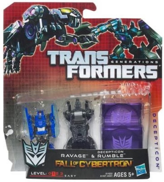 Transformers Generations Fall of Cybertron - Ravage & Rumble / Frenzy & Rabat in Zoutleeuw