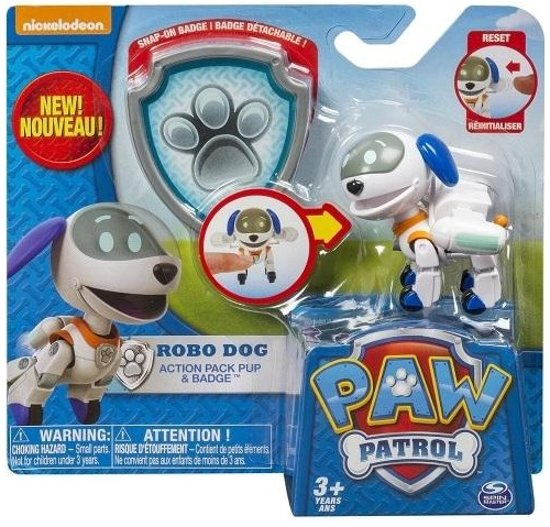 Paw Patrol Pup and Badge - Robo Dog in \'t Heechhout