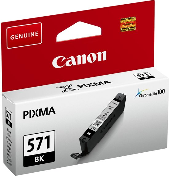 Canon CLI-571BK - Inktcartridge / Zwart