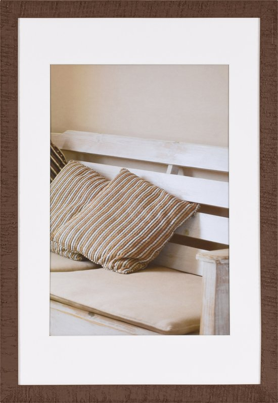 henzo driftwood fotolijst fotomaat 40x60 cm donker bruin. Black Bedroom Furniture Sets. Home Design Ideas