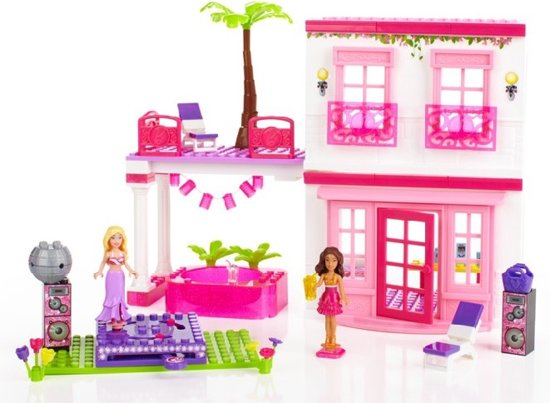 Barbie Slaapkamer Meubels : Mega Bloks Barbie Beach House