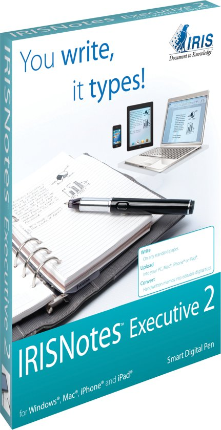 IRISNotes Executive 2 Smart Digital Pen
