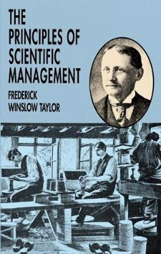 the principles of scientific management essay Scientific management theory: principles of the 00990027, abstract : the principles of scientific management by fw 10 years in the essay.