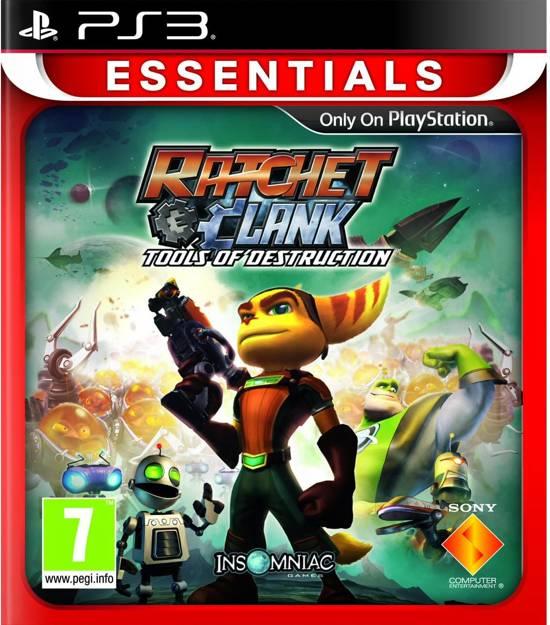 Ratchet & Clank Tools Of Destruction - Essentials Edition