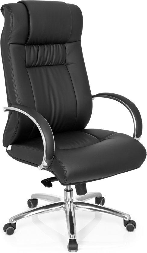 hjh office XXL FG 600 - Bureaustoel - Zware belasting  - Kunstleder - Zwart in Juprelle