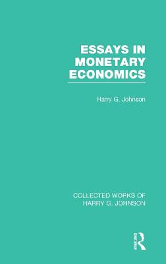 the study of econonmics an opinionated essay