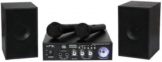 LTC Audio Karaoke set met USB/SD & Bluetooth in Windesheim