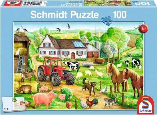 Schmidt Puzzel - Op de Boerderij in Klazienaveen-Noord