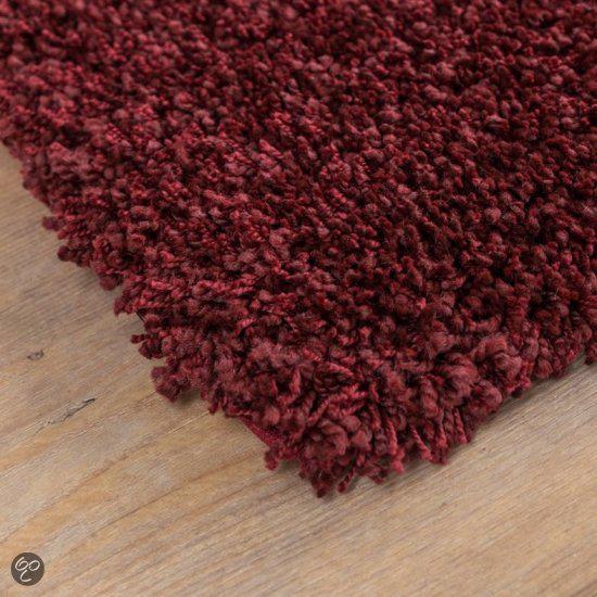 Keuken Bordeaux Rood : Hoogpolig Vloerkleed Hamat – Saba Bordeaux Rood – 200 x 290 cm Wonen