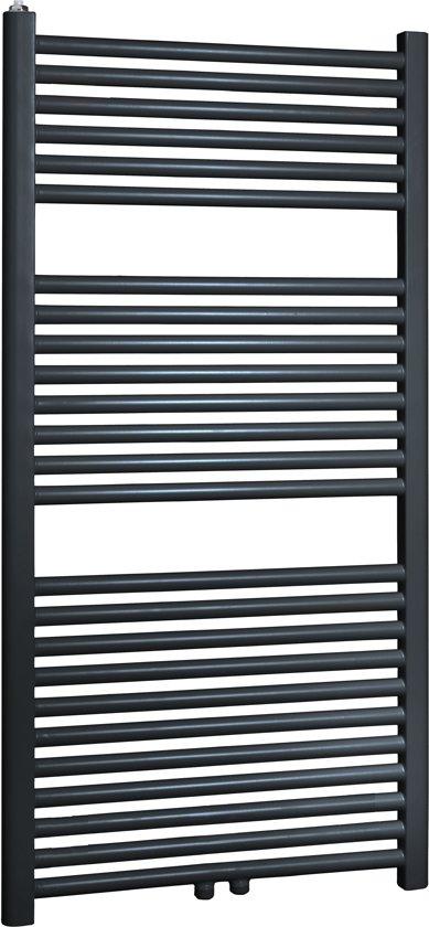 Design radiator met thermostaat 600 x 1424 mm (recht model) in Wissekerke