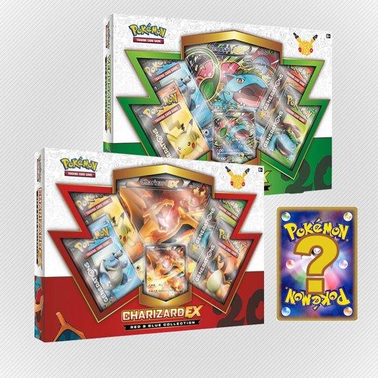 Pokemon kaarten TCG - Venusaur EX + Charizard EX - 20th Anniversary Red & Blue in Schellach