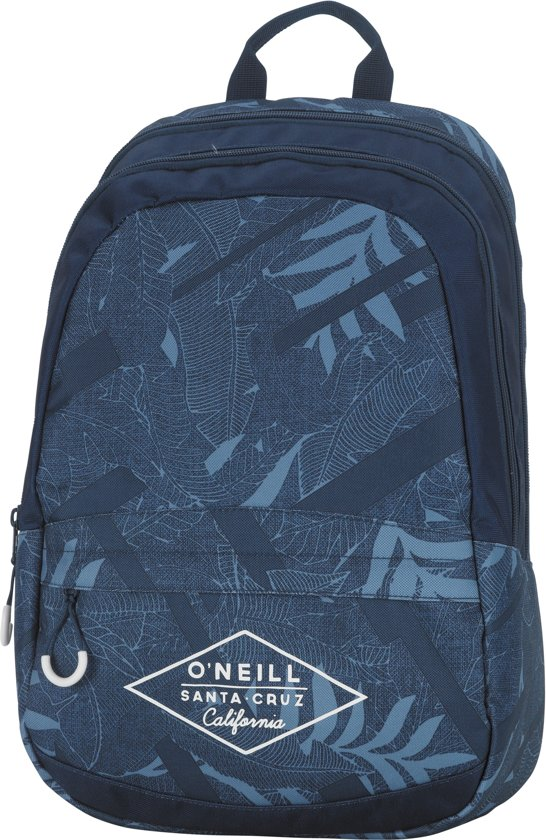 O'Neill Double Rugzak - Blue Leaves in \'t Haantje