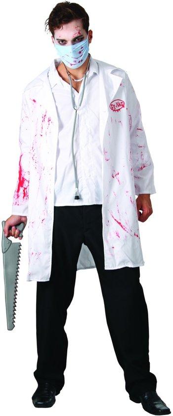 Bebloede chirurg outfit voor volwassenen  - Verkleedkleding - One size in Noirefontaine