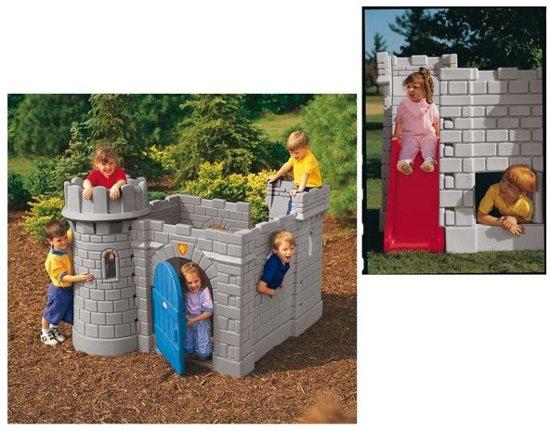 Little Tikes Classic Castle - Speelhuis met glijbaan in De Hilte