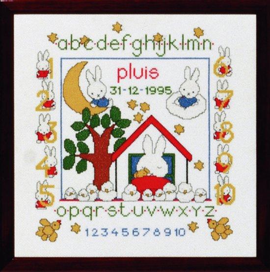 borduurpakket 230.277 dick bruna, geboorte nijntje pluis in Heide
