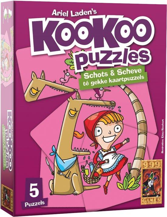 Puzzel Kookoo Sprookjes - Kaartspel