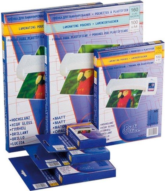 lamineerhoes ProfiOffice 125 micron 100 vel A4 216x303mm in Ocquier