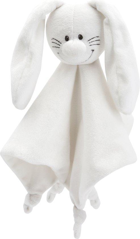 Bunny Basic Knuffeldoekje Wit