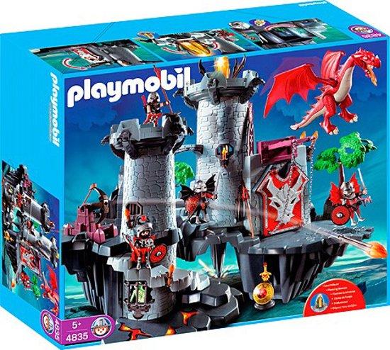 Playmobil Zwarte Drakenburcht - 4835 in Les Bulles