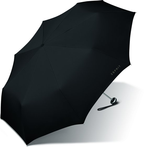Esprit Opvouwbare Paraplu Mini - Alu Light - Zwart - 97 cm in Bears / Beers