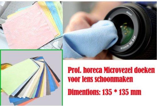 Prof horeca microvezel doeken voor lens for Lens camera schoonmaken