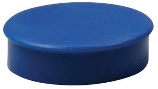 Nobo magneten diameter van 20 mm blauw blister van 8 stuks in Jonkershuizen
