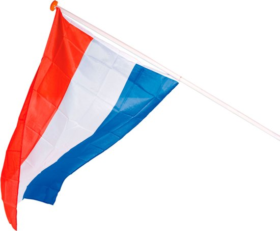 Nederlands Elftal Vlag - Rood-Wit-Blauw