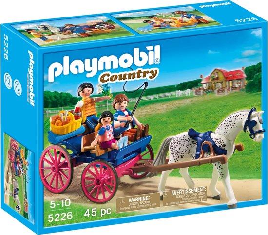 Playmobil Paardenkoets met Familie - 5226 in Erlecom