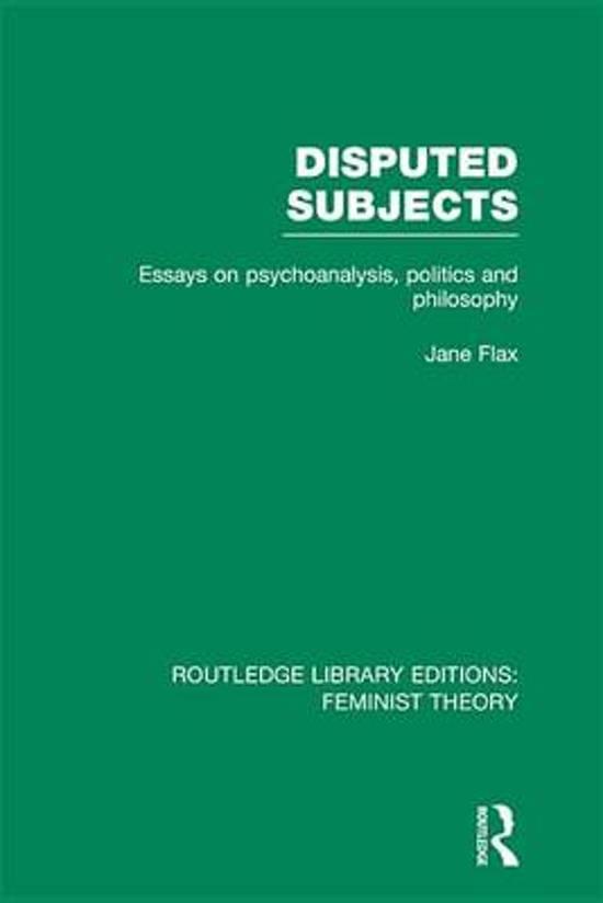 Feminist Literary Criticism Example