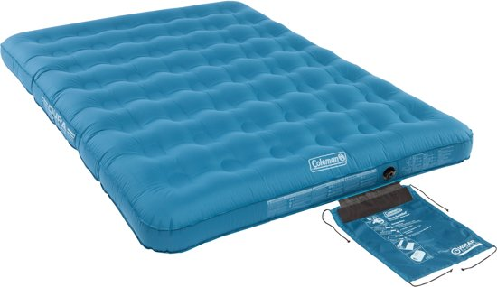 Coleman luchtbed DuraRest luchtbed Double turquoise in Xhoris
