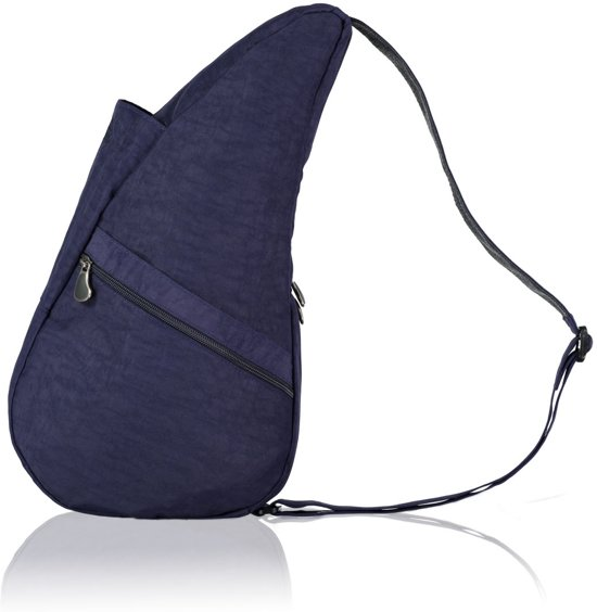 The Healthy Back Bag Textured Nylon Blue Night Small in Aalst