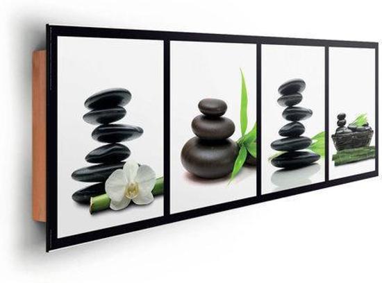 Reinders schilderij zen stones green deco panel 90 x 30 cm no 22036 - Deco schilderij slaapkamer kind ...