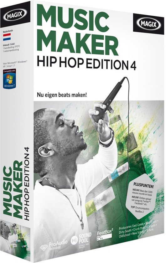 Magix Music Maker, Hip Hop Edition 4