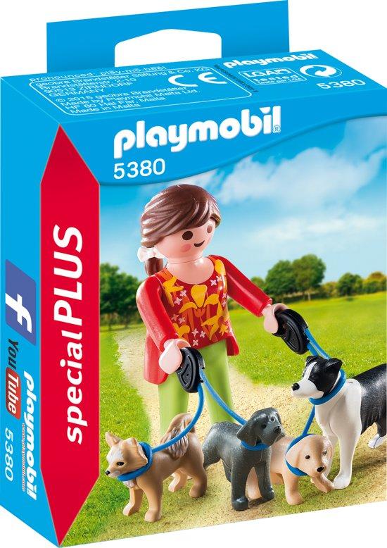Playmobil Hondenoppas - 5380 in Bruinehaar