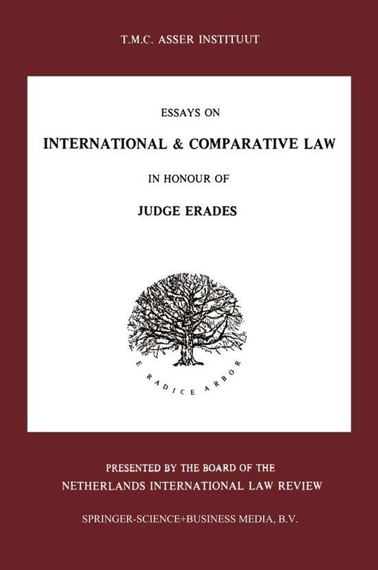 Essays on International & Comparative Law