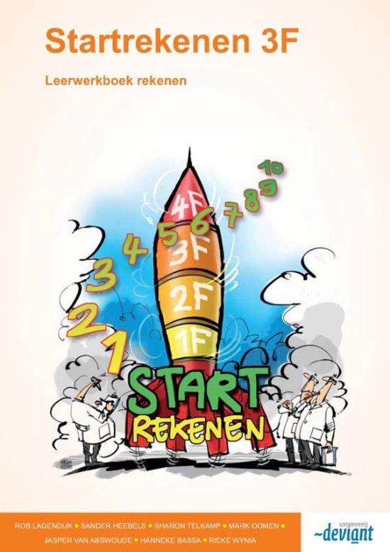 Startrekenen 3F / Leerwerkboek