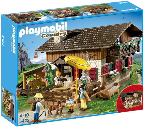 playmobil berghut 5422 playmobil