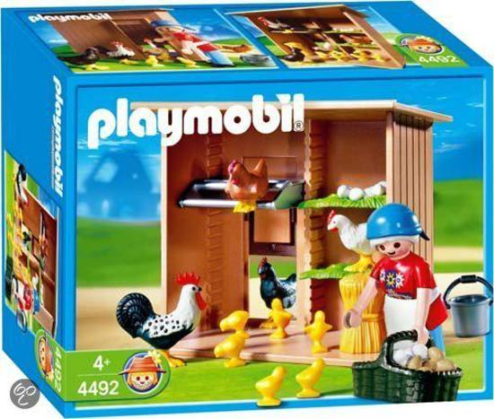 Playmobil Kippenhok - 4492