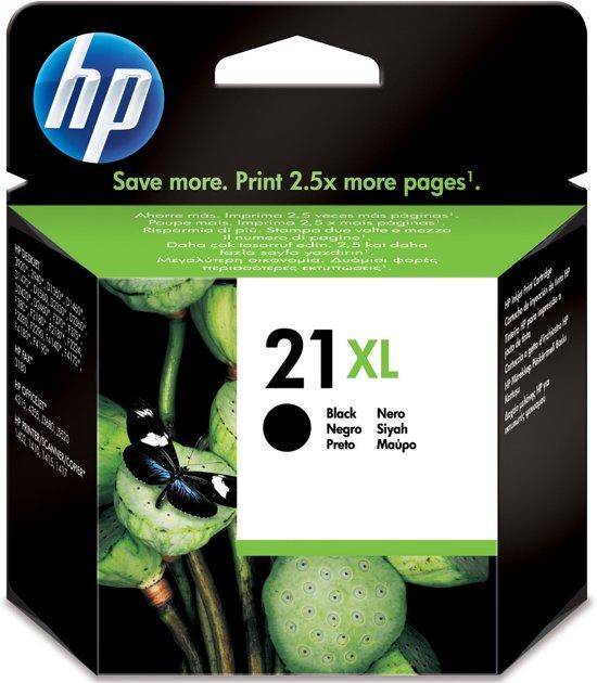 HP 21XL - Inktcartridge / Zwart / Hoge Capaciteit